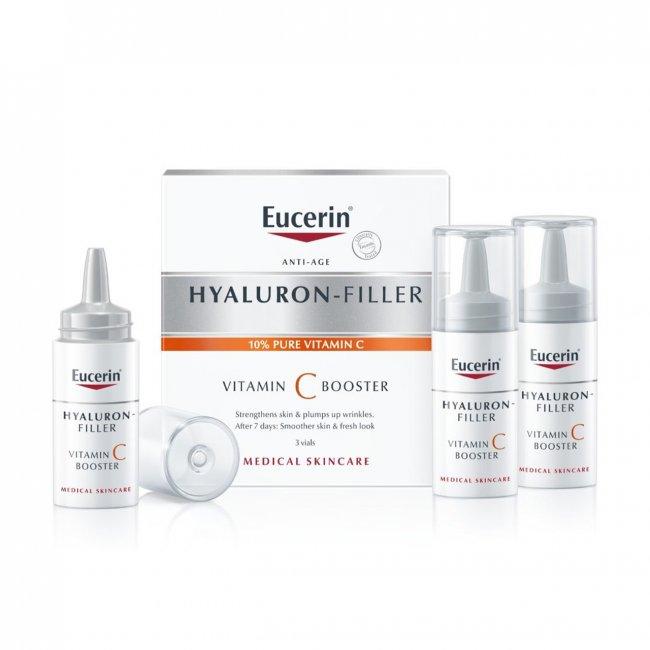 Eucerin Hyaluron-Filler Vitamin C Booster 8ml x3