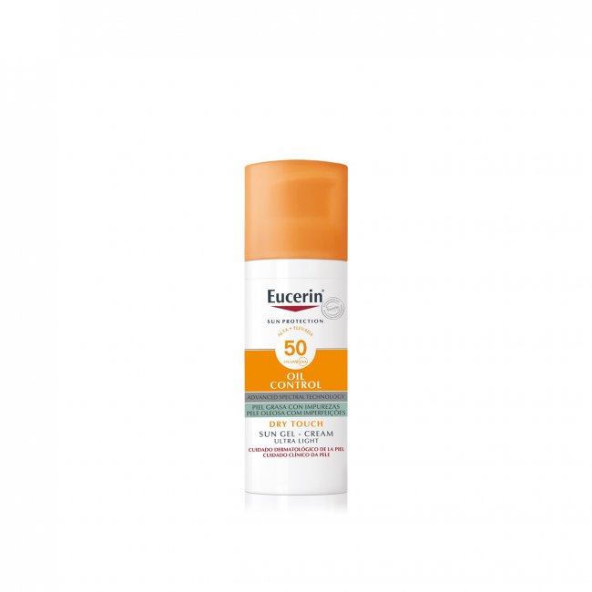 Eucerin Sun Gel-Creme Oil Control Toque Seco FPS50+ 50ml