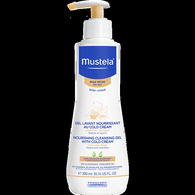 Mustela Baby Cleansing Gel & Cold Cream Hair&Body 300ml
