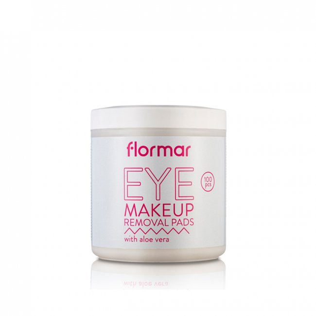Flormar Eye Makeup Removal Pads With Aloe Vera x100 ...