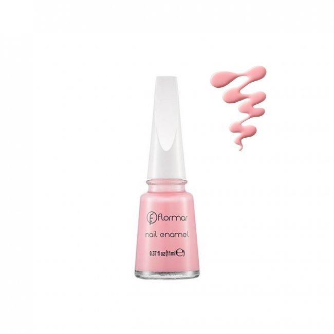 Flormar Nail Enamel 77 Light Pink 11ml