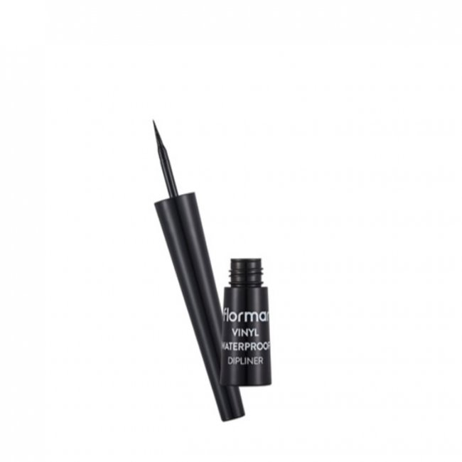 Flormar Vinyl Waterproof Dipliner Black 2.5ml