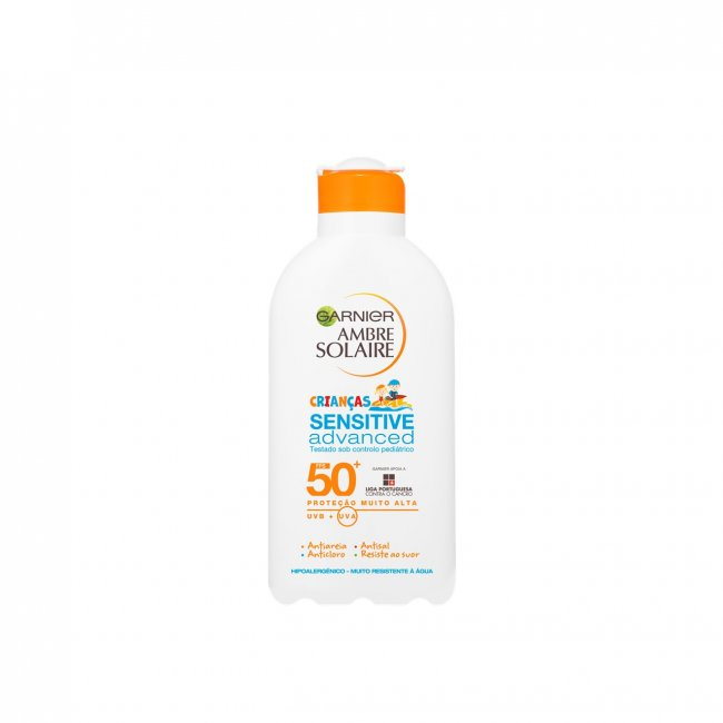 Garnier Ambre Solaire Sensitive Advanced Kids Sun Cream SPF50+ 200ml