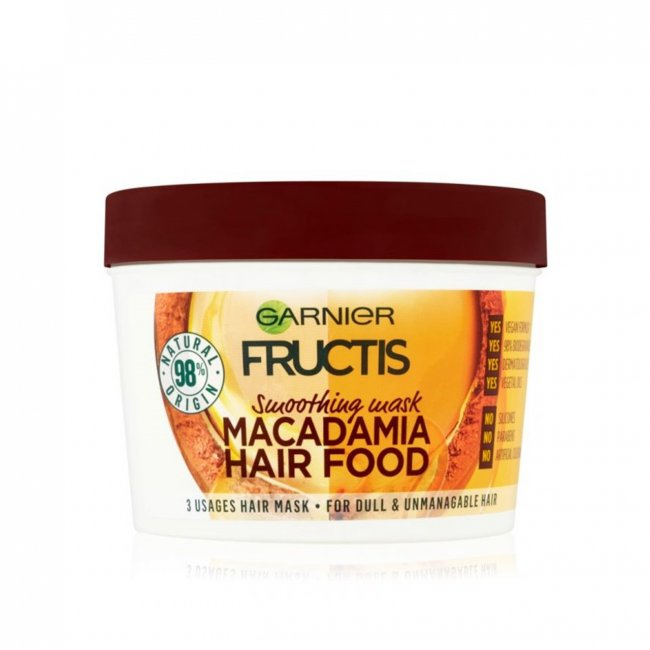 Garnier Fructis Hair Food Macadamia Mask 390ml