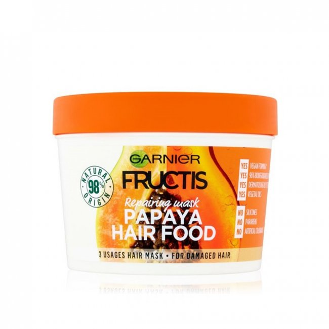 Garnier Fructis Hair Food Papaya Mask 390ml