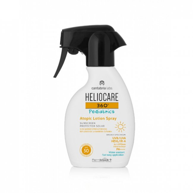 Heliocare 360 Pediatrics Atopic Lotion Spray SPF50 250ml