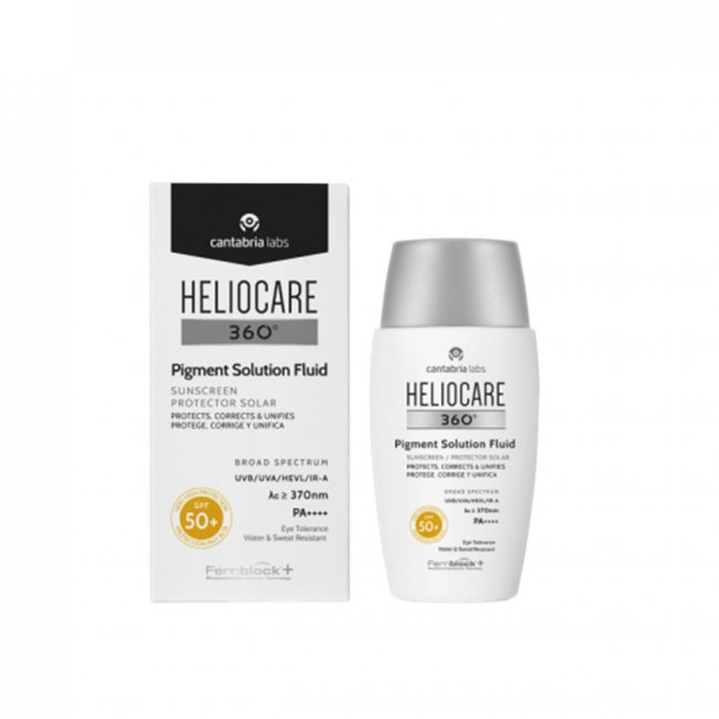 Heliocare 360 Pigment Solution Fluid SPF50+ 50ml