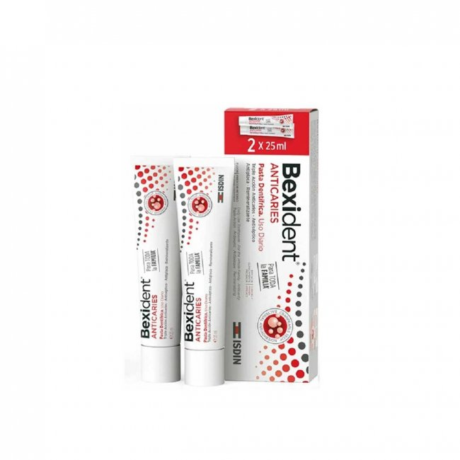 PACK PROMOCIONAL: ISDIN Bexident Anticavity Toothpaste 25ml x2