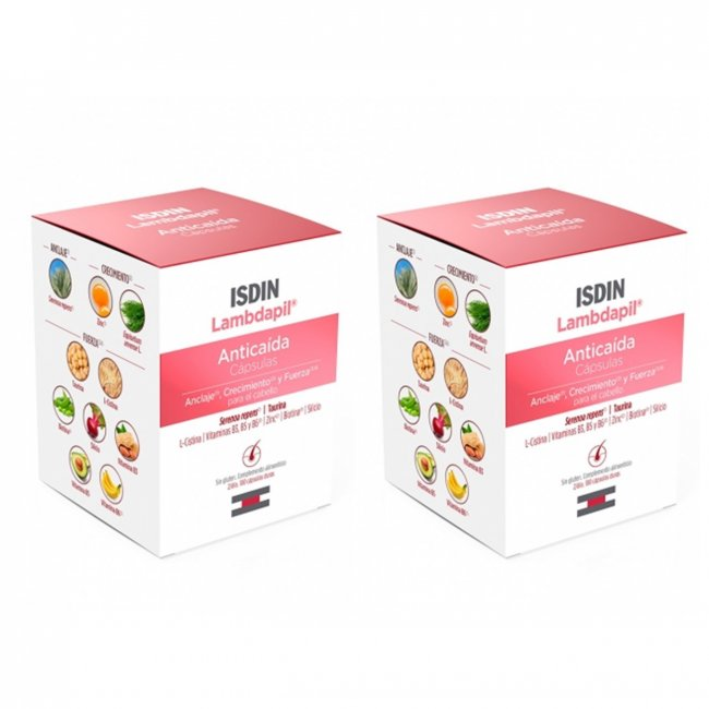 PROMOTIONAL PACK: ISDIN Lambdapil Fortifying Anti Hair Loss Capsules x120