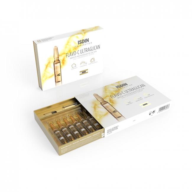 ISDINCEUTICS Flavo-C Ultraglican Antioxidant Ampoules 10x2ml