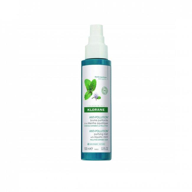 Klorane Anti-Pollution Purifying Mist with Aquatic Mint 100ml
