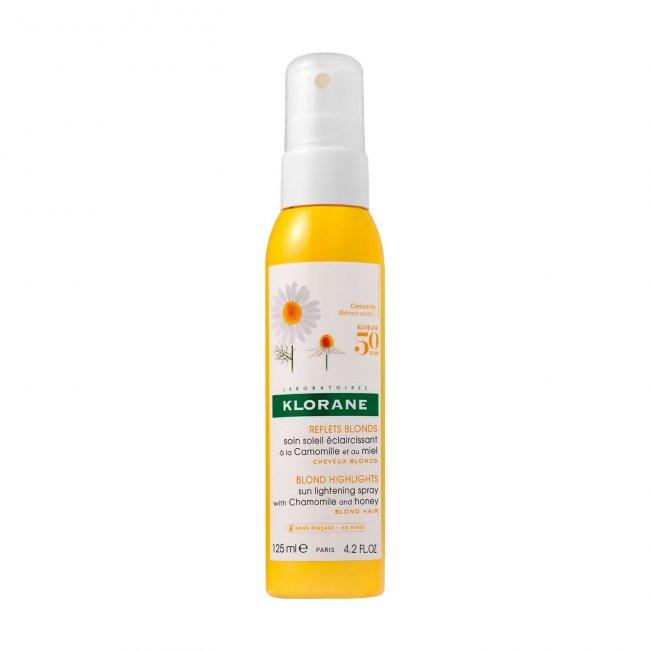 Klorane Blond Highlights Sun Lightening Spray with Chamomile 125ml