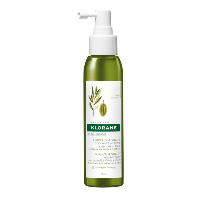 Klorane Thickness & Vitality Leave-in Spray with Olive Extract 125ml