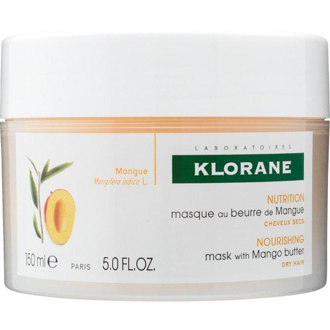 Klorane Máscara Nutritiva c/ Manteiga Manga 150ml