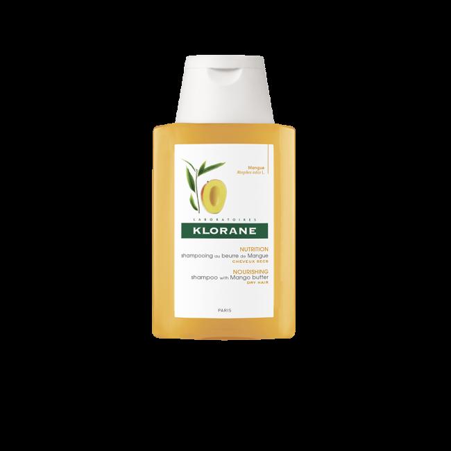 TAMANHO DE VIAGEM: Klorane Nourishing Shampoo with Mango Butter 100ml