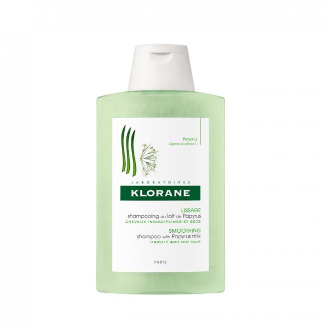 Klorane Smoothing Shampoo with Papyrus Milk 400ml