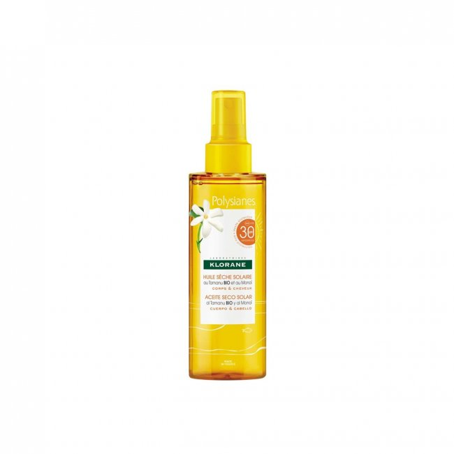 Klorane Polysianes Sun Protection Dry Oil SPF30 200ml