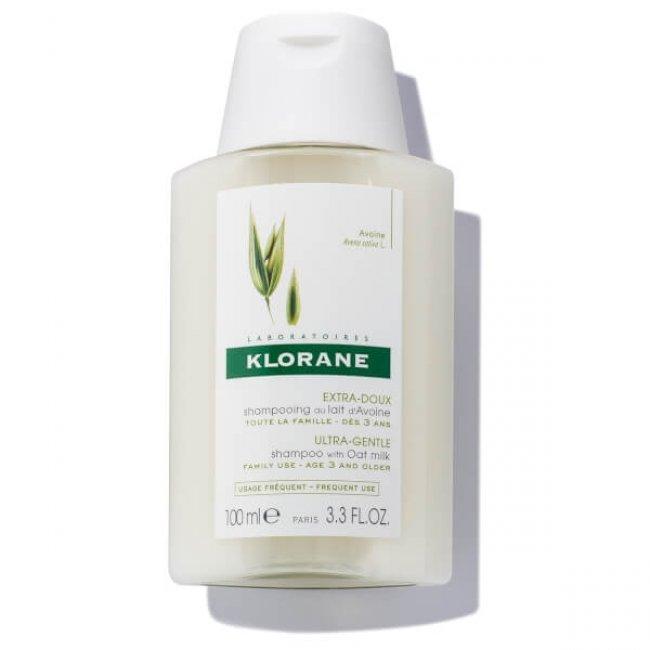 Klorane Ultra-Gentle Shampoo with Oat Milk 100ml