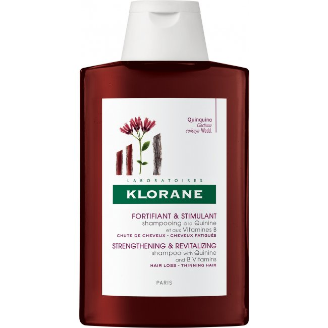 Klorane Shampoo Fortificante c/ Quinina e Vitamina B6 400ml