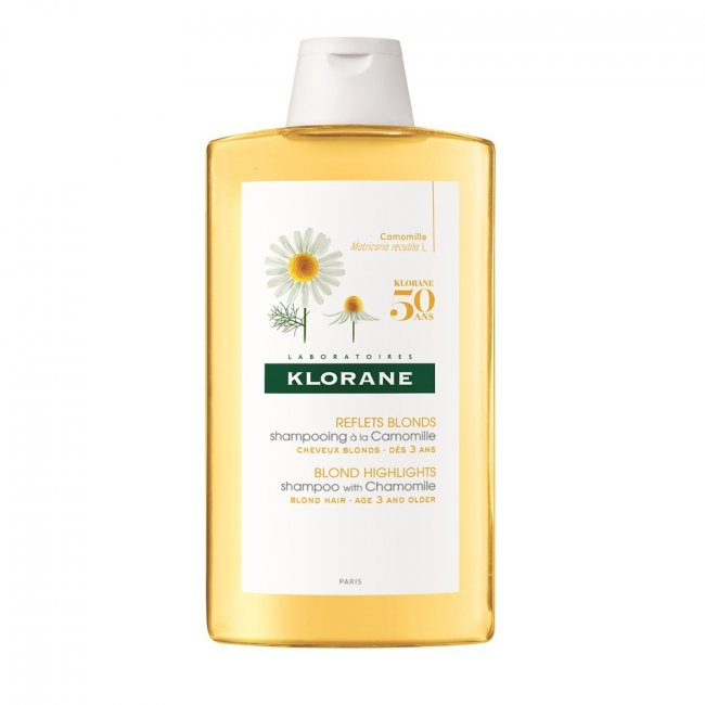 Klorane Blond Shampoo Reflexos Dourados c/ Camomila 400ml