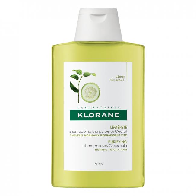 Klorane Purifying Shampoo with Citrus Pulp 400ml