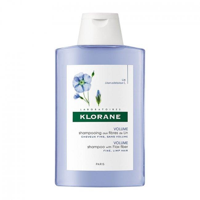Klorane Shampoo Volume c/ Fibra Linho 400ml