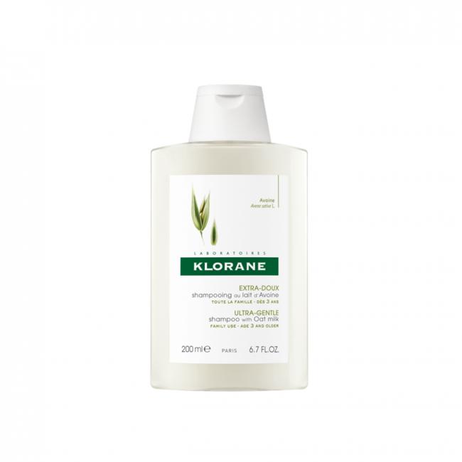 Klorane Ultra-Gentle Shampoo with Oat Milk 200ml