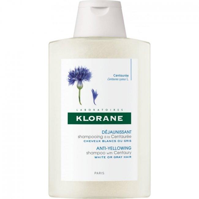 Klorane Anti-Yellowing Shampoo with Centaury 200ml