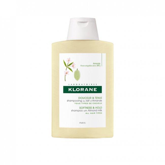 Klorane Softness & Hold Shampoo with Almond Milk 400ml