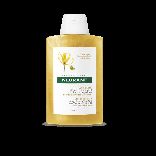 Klorane Sun Radiance Shampoo Nutritivo c/ Ylang Ylang 200ml
