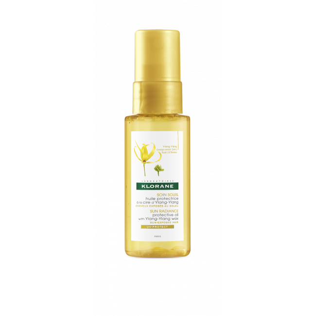 Klorane Sun Radiance Protective Oil with Ylang-Ylang 50ml