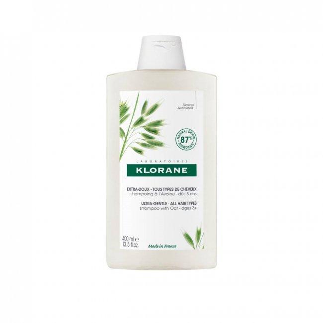 Klorane Shampoo Ultra-Suave c/ Leite Aveia 400ml