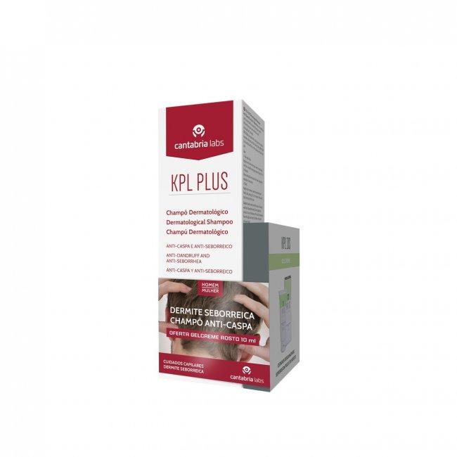 PROMOTIONAL PACK: KPL Plus Dermatological Shampoo 200ml + KPL DS Gel Cream