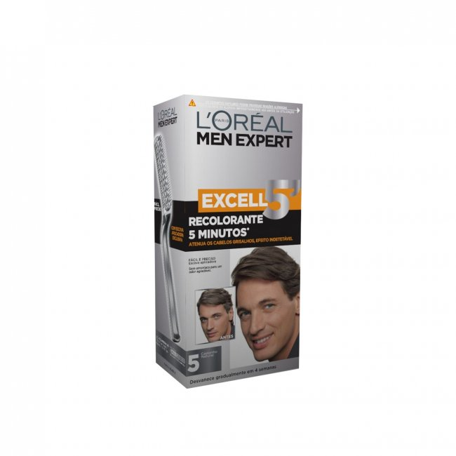 L'Oréal Men Expert Excell 5 Hair Color 5 Natural Brown