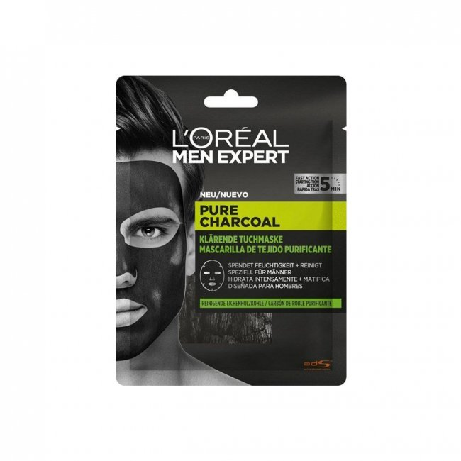 L'Oréal Paris Men Expert Pure Charcoal Purifying Tissue Mask