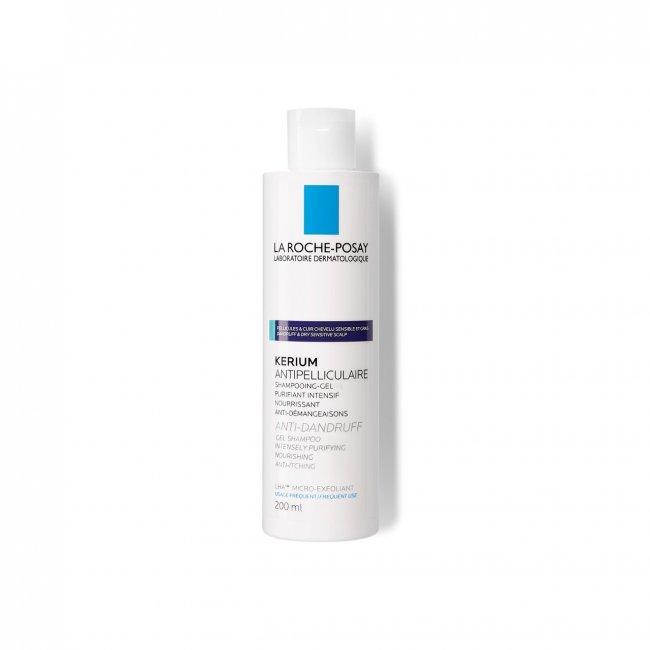 La Roche-Posay Kerium Anti-Dandruff Gel-Shampoo Oily Scalp 200ml