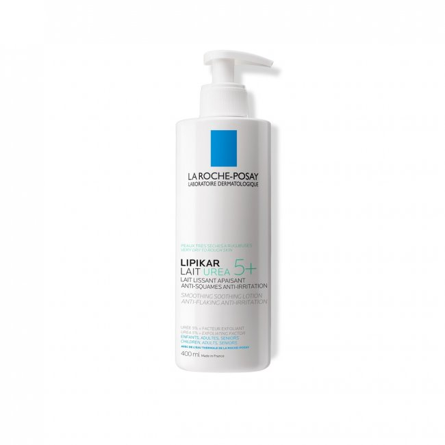 La Roche-Posay Lipikar Lait Urea 5+ Smoothing Soothing Lotion 400ml
