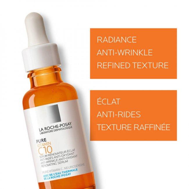 Buy La Roche Posay Pure Vitamin C10 Serum 30ml India