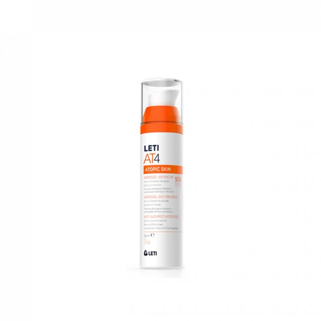 LETI AT4 Atopic Skin Anti-Itch Hydrogel 50ml