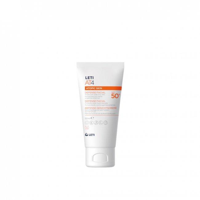 LETI AT4 Atopic Skin Defense Facial SPF50+ 50ml