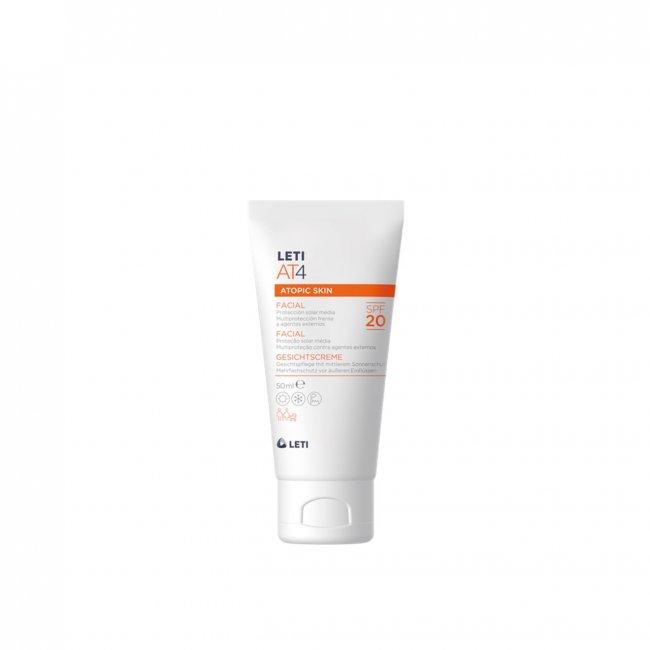 LETI AT4 Atopic Skin Facial Cream SPF20 50ml