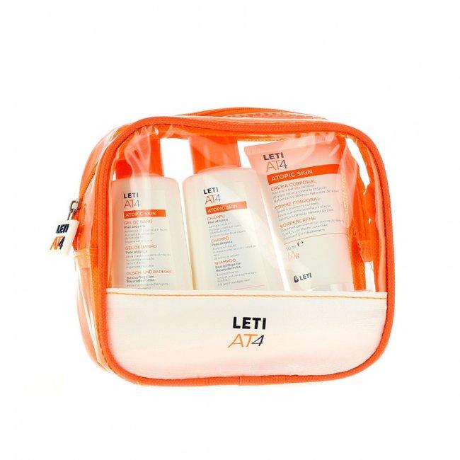 TRAVEL SIZE: LETI AT4 Atopic Skin Shower Kit