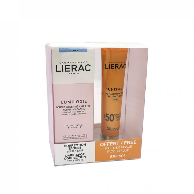 PROMOTIONAL PACK: Lierac Lumilogie Dark-Spot Correction 30ml + Sunissime BB SPF50+ 40ml