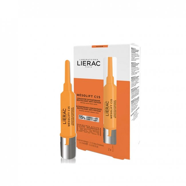 Lierac Mesolift C15 Extemporised Anti-Fatigue Concentrate 2x15ml