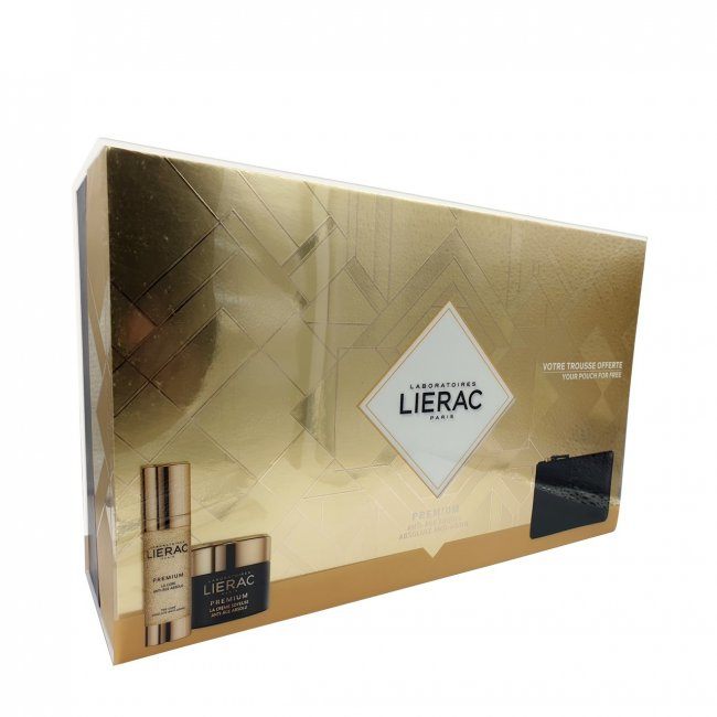 COFFRET: Lierac Premium Absolute Anti-Aging Silky Cure Coffret