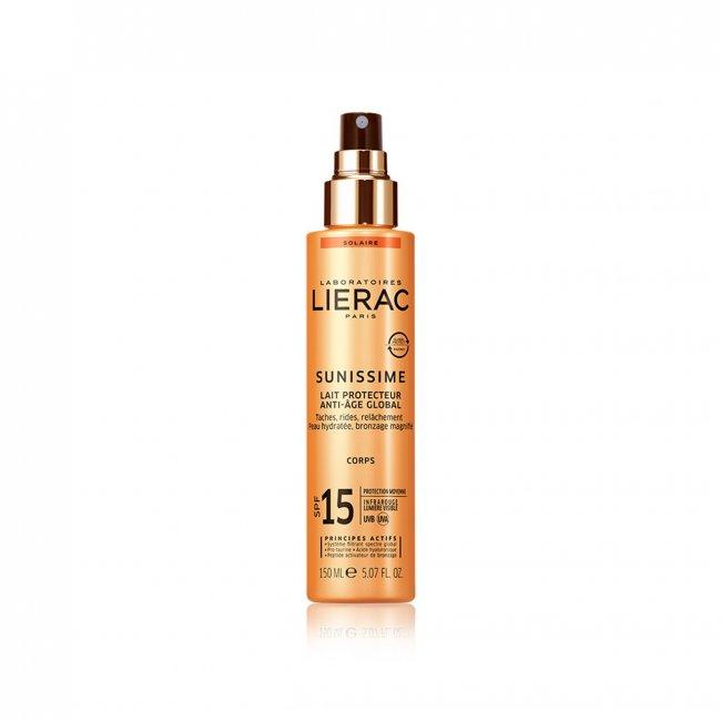 Lierac Sunissime Energizing Protective Body Milk SPF15 150ml