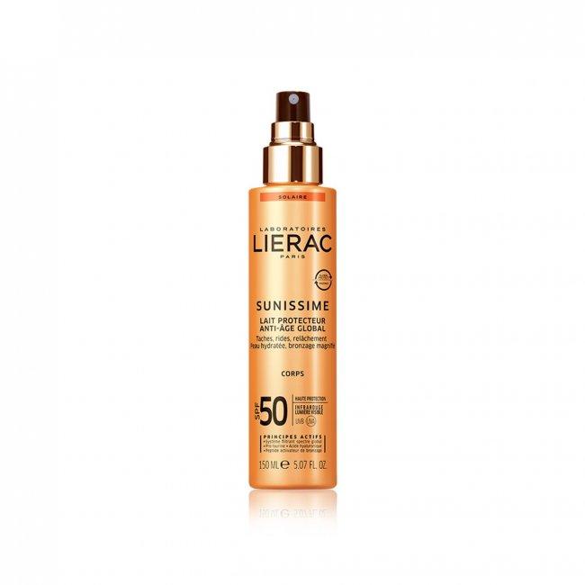 Lierac Sunissime Energizing Protective Body Milk SPF50 150ml