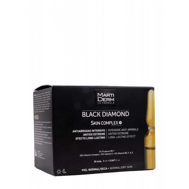 Martiderm Black Diamond Skin Complex Normal/Dry Skin 30x2ml