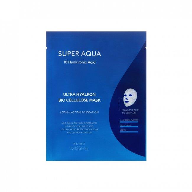 Missha Super Aqua Ultra Hyalron Bio Cellulose Mask 25g