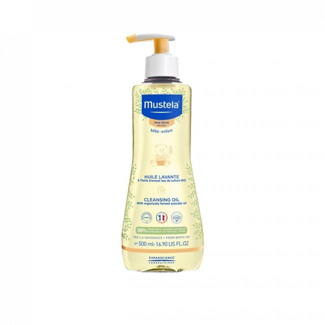 Mustela Baby Dry Skin Cleansing Oil 500ml
